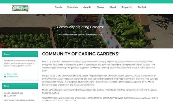 Community of Caring Gardens